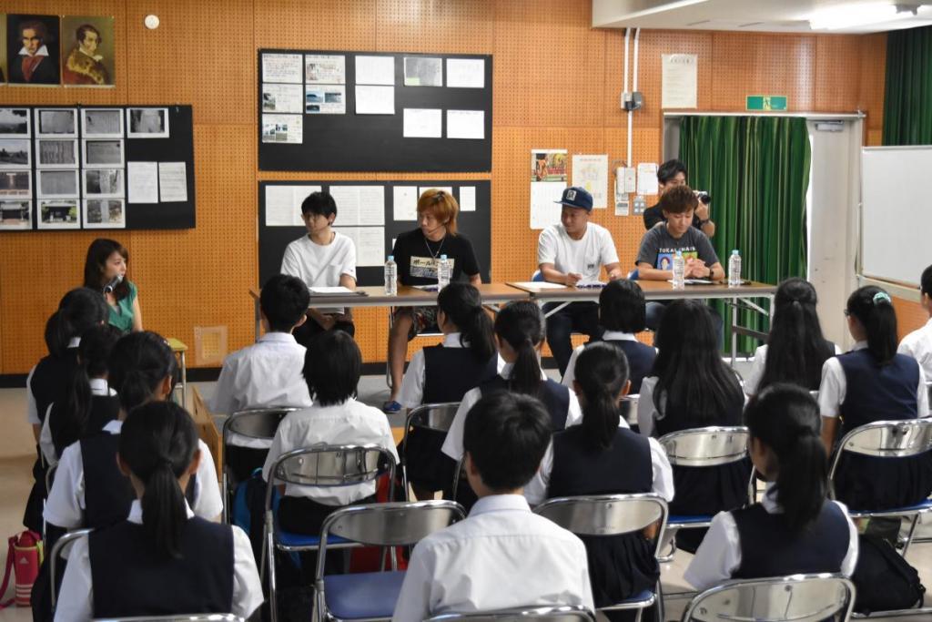 【東海オンエア】TBSラジオとのコラボ番組を愛知教育大学付属岡崎中学校で収録しました!