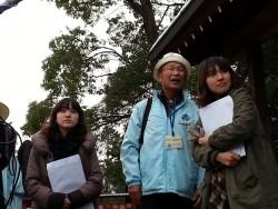 おかざきの観光ガイド会長の鈴木さんから「こちらは、家康公が戦勝祈願をしたんだよ」とお聞きし・・・