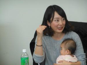 2007力丸(小野)華枝さん♡「お二人とも本当に素敵なお嬢さんで♡ご活躍を祈っています!」