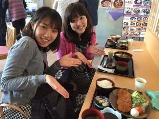 今日のお昼は、道の駅藤川宿のランチ♪