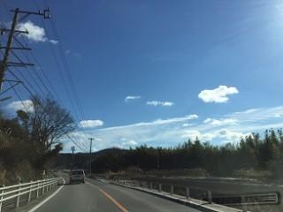 青空が気持ちいい日です~♪