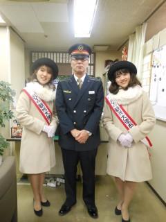 酒井田駅長さんに、駅長室をご案内いただきました☆