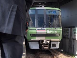 電車の到着☆